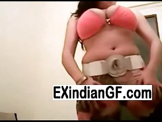 Big tit Indian have fun on webcam